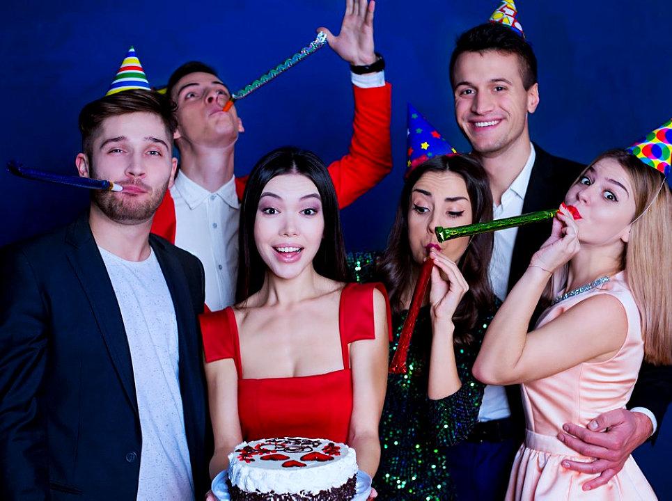 people having a celebration